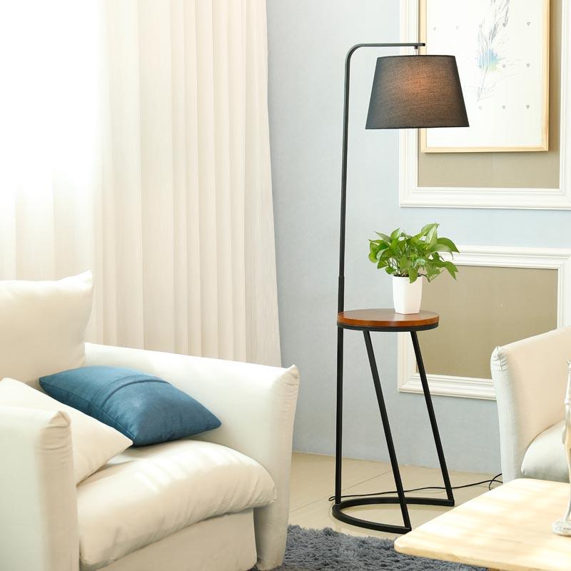 Holz Moderne Boden Loft Für Stehlampe Licht Stoff Wohnzimmer ...