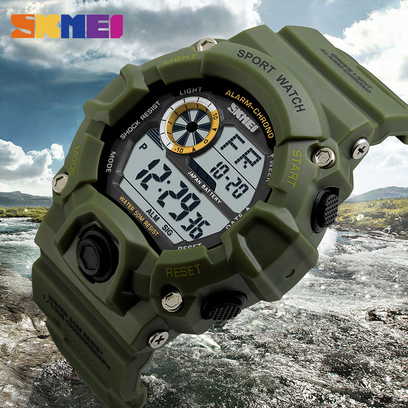 SKMEI Νέο G Style Ψηφιακό ρολόι Άνδρες - Ανδρικά ρολόγια - Φωτογραφία 4
