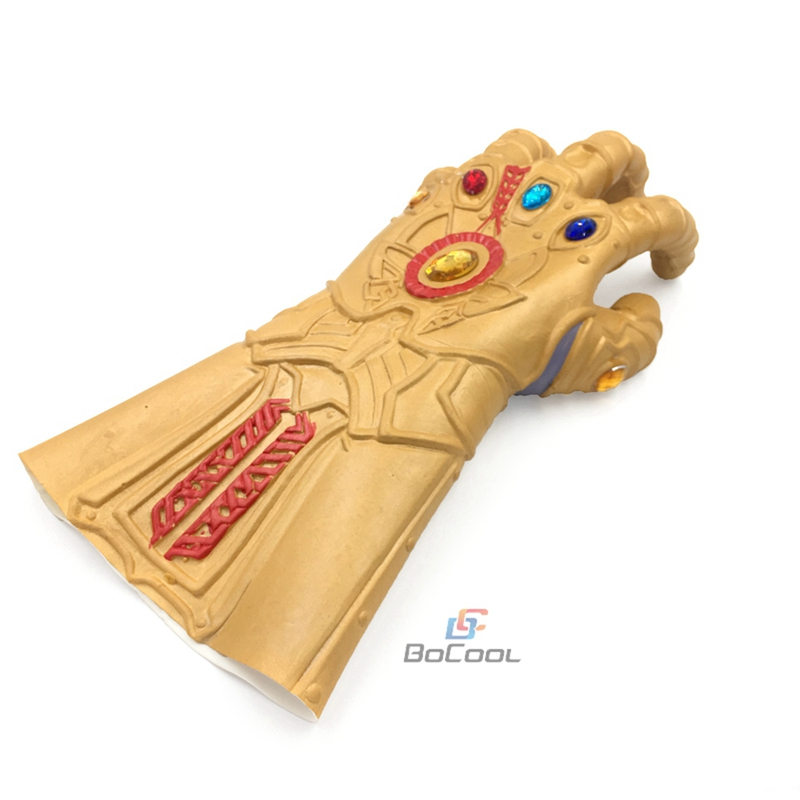 Thanos Infinity Gauntlet Mask Avengers Infinity War Gloves Cosplay Superhero Avengers Thanos Glove Mask Halloween Party Props in Party Masks from Home Garden