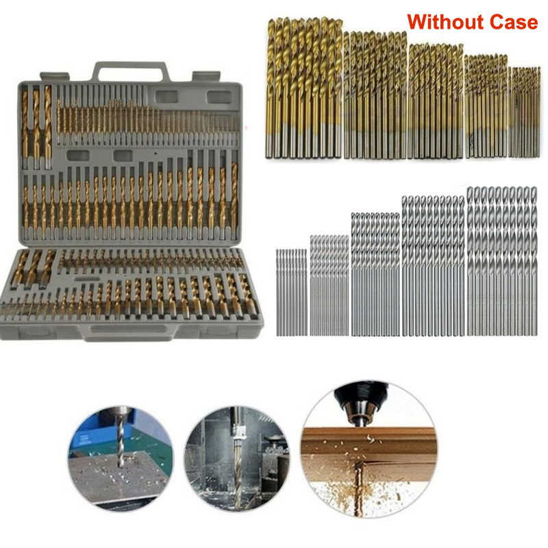 Dutoofree Woodworking Special Stainless Steel For Cobalt-containing Drills Electric Drill Metal Drill Bit Power Tool Accessories