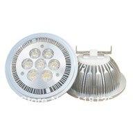 הוביל gu10 g53 e27 14 w ar111 qr111 ספוט led אור מנורת הלוגן 1120lm = 100 w משלוח חינם