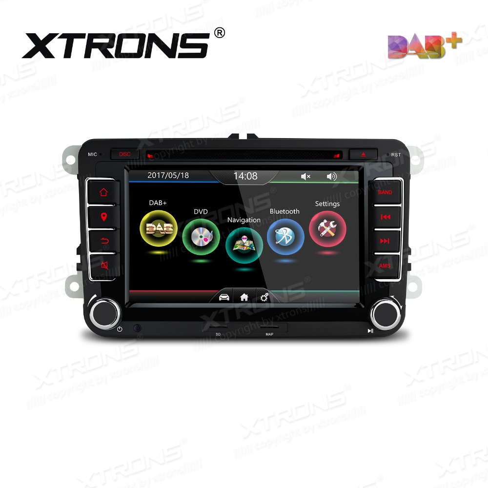 xtrons 7 39 39 hd 2 din car dvd player radio dab canbus gps. Black Bedroom Furniture Sets. Home Design Ideas