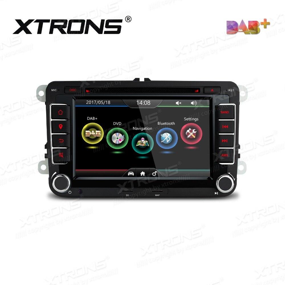 Mk5 mk6 golf gti 2016 car golf mk5 radio golf mk5 mk6 car stereo dvd - Xtrons 7 Hd 2 Din Car Dvd Player Radio Dab Canbus Gps Navigation