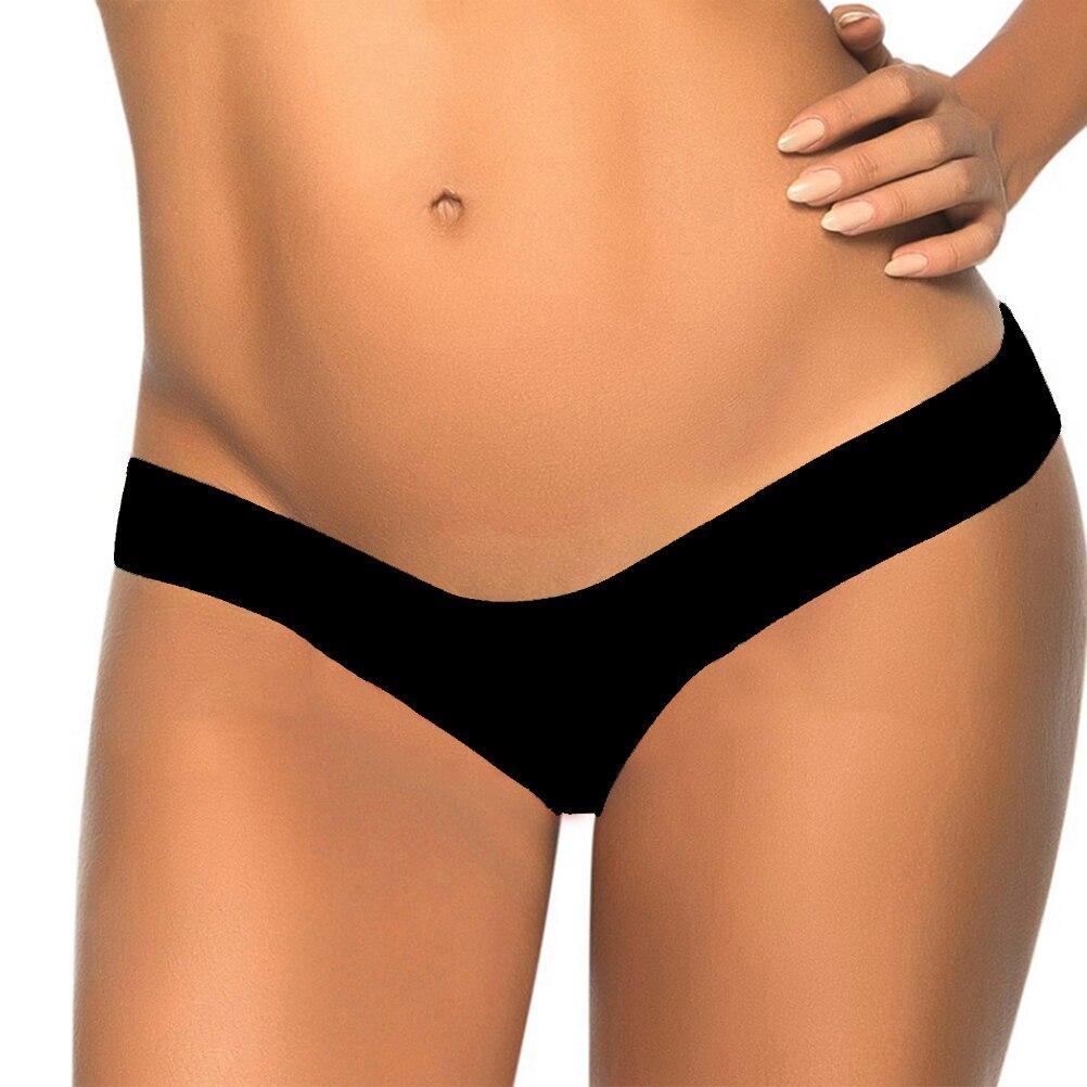 FENICAL V Shape Women's Bikini Bottom Low-waisted Underwear Sexy Swimming Briefs Beach Swimwear Panties