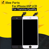 5PCS Top Quality For IPhone 6S Plus LCD Screen With Touch Digitizer Display Assembly Replacement White