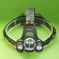 Hunting Camping Hiking 8000lm 3x CREE T6 LED Headlamp Lamp Headlight Head flashlight Head Torch Lights by 2X18650 Battery