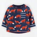 Little Maven boys long sleeved T-shirt shirt jacket cotton baby children leisure all-match