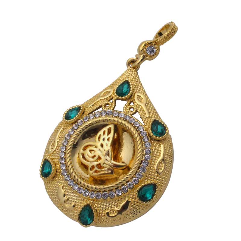 Zkd Islam Muslim Ottoman Turkish Pendant Necklace Pure And Mild Flavor Necklaces & Pendants Pendants