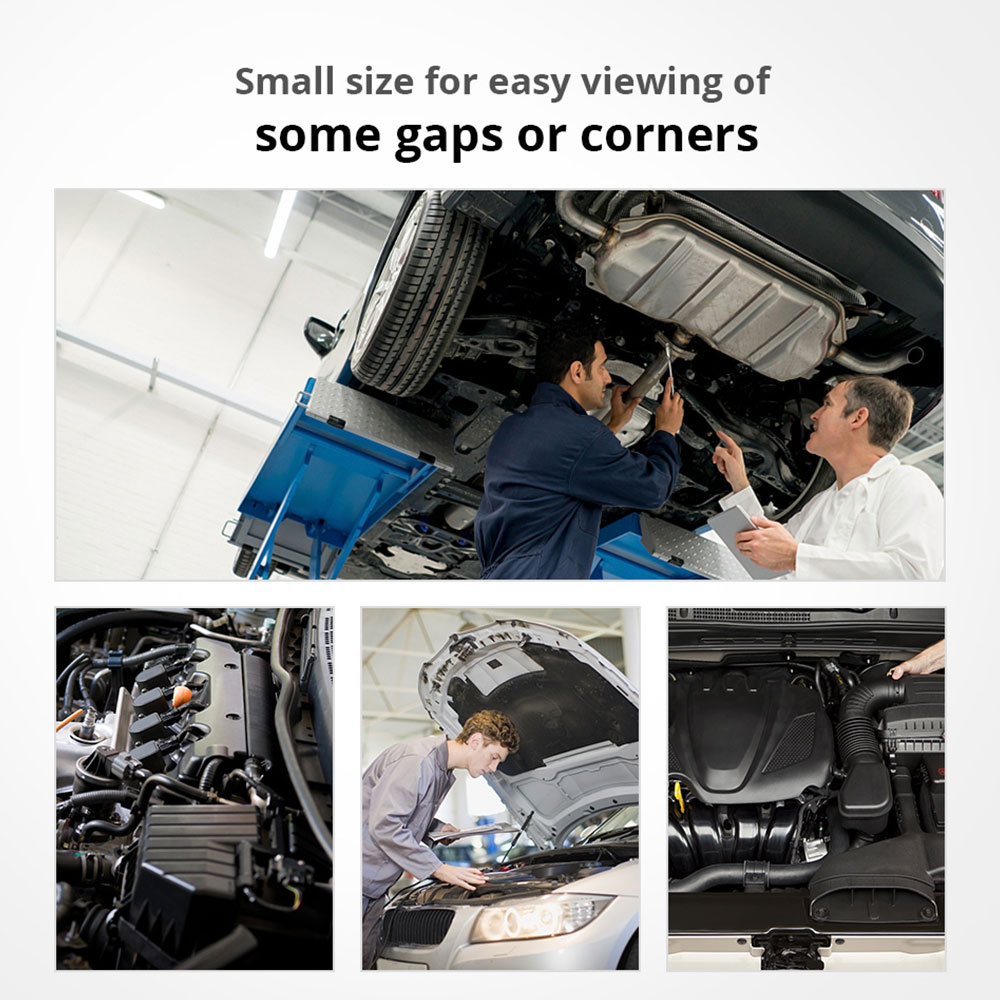 Складное автоматическое выдвижное зеркало для обнаружения объектива инспекция круглое зеркало удлинение угол автомобиля внешние аксессуары для автомобиля универсальный