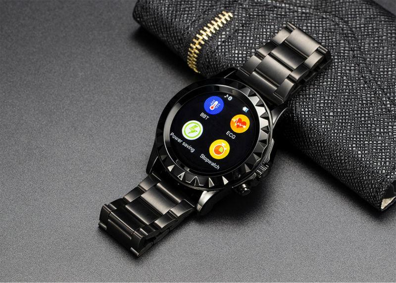Fashion Smart Watch Wrist font b Smartwatch b font Wristwatch Pedometer Phone Mate Heart Rate Thermometer