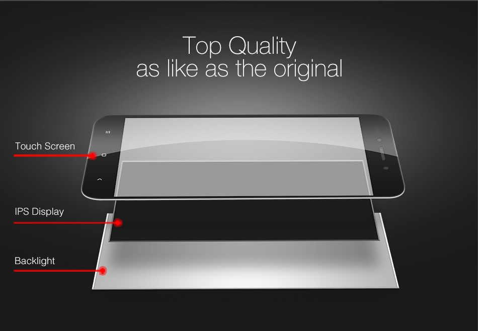 Voor Xiaomi Redmi Opmerking 4 MTK Lcd-scherm + Frame Touch Screen Montage Voor Redmi NOTE4 MediaTek Helio X20 Reparatie onderdelen