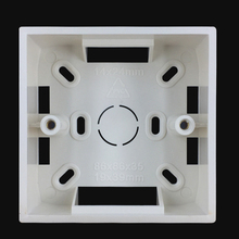 Ming box 86 type bottom box switch socket panel junction box offline box wall mount base