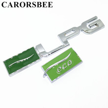 CARORSBEE 3D Zinc alloy Metal LPG ECO Logo Emblem Badge Decals Car sticker Car Styling For