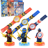 Avengers Super Heroes Figures Model Building Kits Watch Compatible With Legoings NinjagoINGlys Toys For Boy Girls