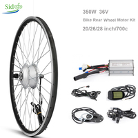 36 V 350 W Electric Controller Bike Conversion Kit Bicycle Hub 202627.528700 c Bicycle Motor Rear Front Wheel LCD 5 BLDC