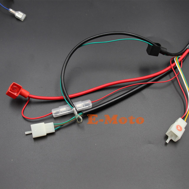 online shop engine ac wiring harness 150cc 200cc 250cc pit quad dirt rh m aliexpress com