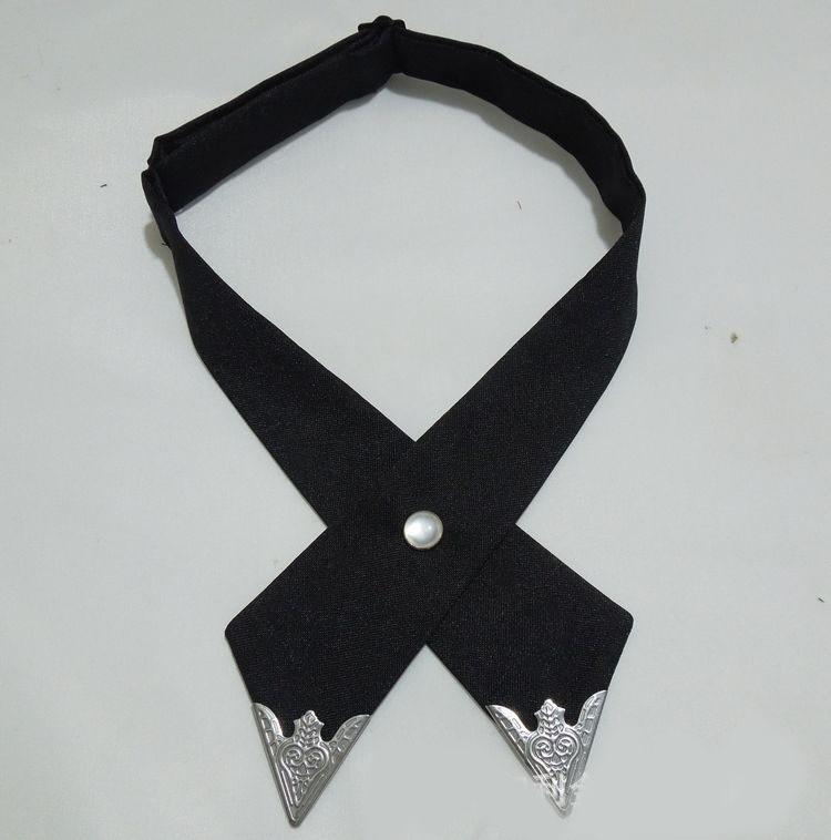 2016-Fashion-Adjustable-Cross-Polyester-Tie-Solid-Color-Collar-Cross-Wedding-Tie-White-Universal-Necktie-High (6)