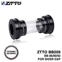 ZTTO керамика BB209 BB92 BB90 BB86 Пресс Fit Нижние Винты-держатели для дорожного горного велосипеда запчасти 24 мм коленчатый набор BB GXP 22 мм цепь