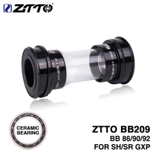 ZTTO керамические BB209 BB92 BB90 BB86 пресс подходят нижние кронштейны для шоссейного горного велосипеда запчасти 24 мм шатуны BB GXP 22 мм chainset