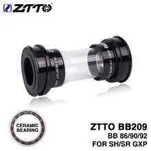 ZTTO CERAMIC BB209 BB92 BB90 BB86 Press Fit Bottom Brackets for Road Mountain bike Parts 24mm Crankset BB GXP 22mm chainset(China)