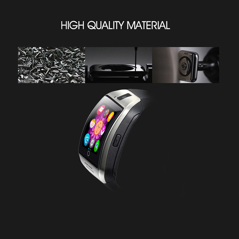 MOCRUX Q18 Passometer Smart watch with Touch Screen camera Support TF card Bluetooth smartwatch for Android IOS Phone 25