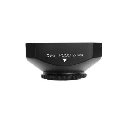 Черный Mennon 4:3 dv-ы винтами 27 мм бленда с крышкой для цифровой видеокамеры бесплатная доставка