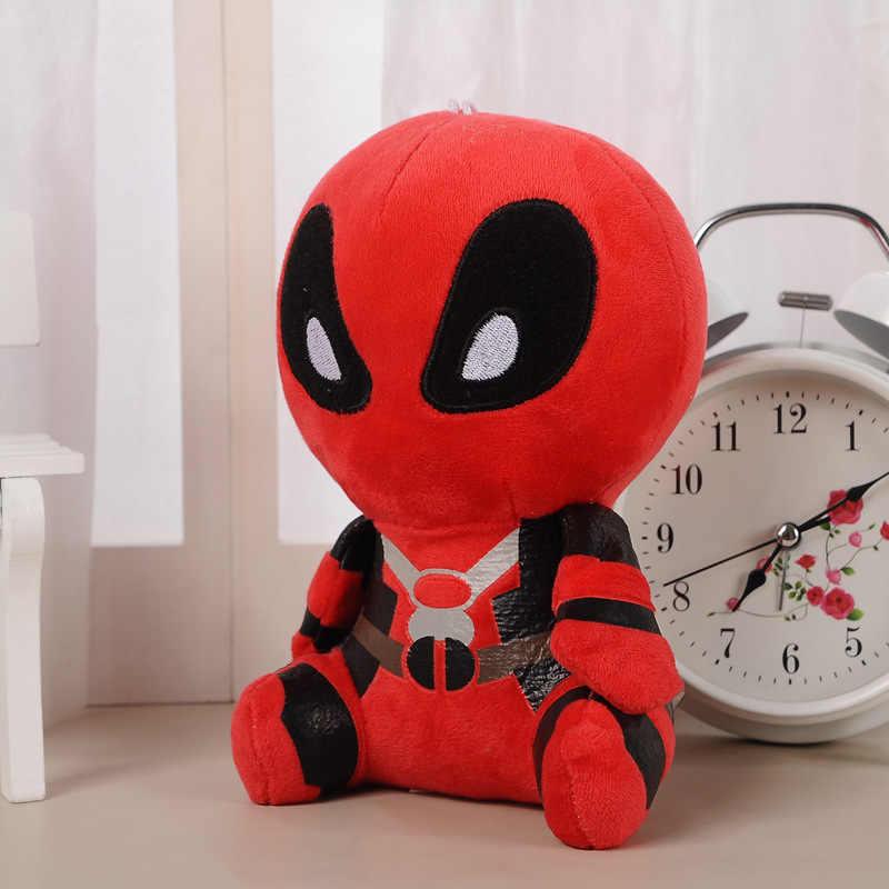 20 cm Filme Deadpool Marvel Dead pool Super hero Spiderman Plush Macio Stuffed Plush Toy Boneca para crianças presentes