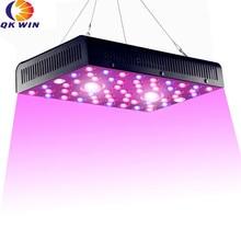 Купить с кэшбэком Qkwin new high end COB LED GROW LIGHT 1200W with 3590K Leds and 55pcs Full spectrum with dual LENS for high par value