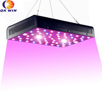 Qkwin new high end COB LED GROW LIGHT 1200W with 3590K Leds and 55pcs Full spectrum with dual LENS for high par value