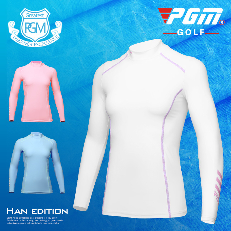 2018 PGM Womens Sunscreen T-shirt Golf Apparel Ladies Long Sleeve Tops Summer T Shirt Su ...