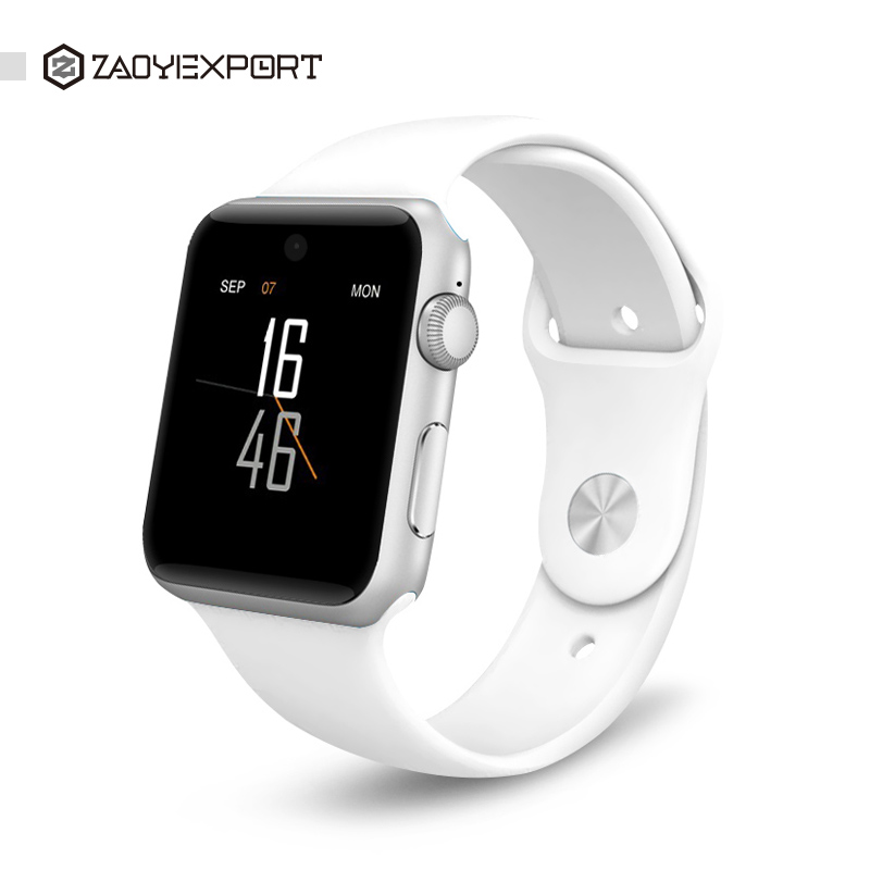 ZAOYIEXPORT Bluetooth Smart Watch DM09 with 2.5D ARC HD Screen Support SIM Card Wearable Device SmartWatch For IOS Android OS 2016 bluetooth smart watch dm09 hd screen support sim card wearable devices smartwatch for ios android pk dm08 gt08 dz09