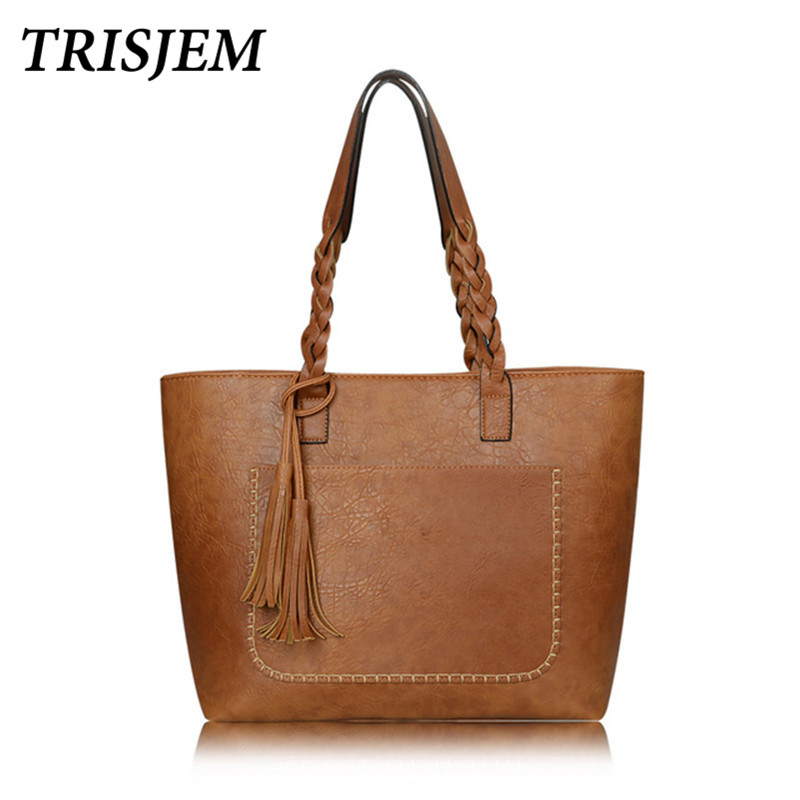 Bags For Women 2018 Luxury Handbags Women Bags Designer Brand Famous Shoulder Bags PU Leather Tassel Bag Bolsos Mujer Sac a Main luxury leather handbags women messenger bags designer for 2018 famous brands tote shoulder bags bolsa feminina sac a main mujer