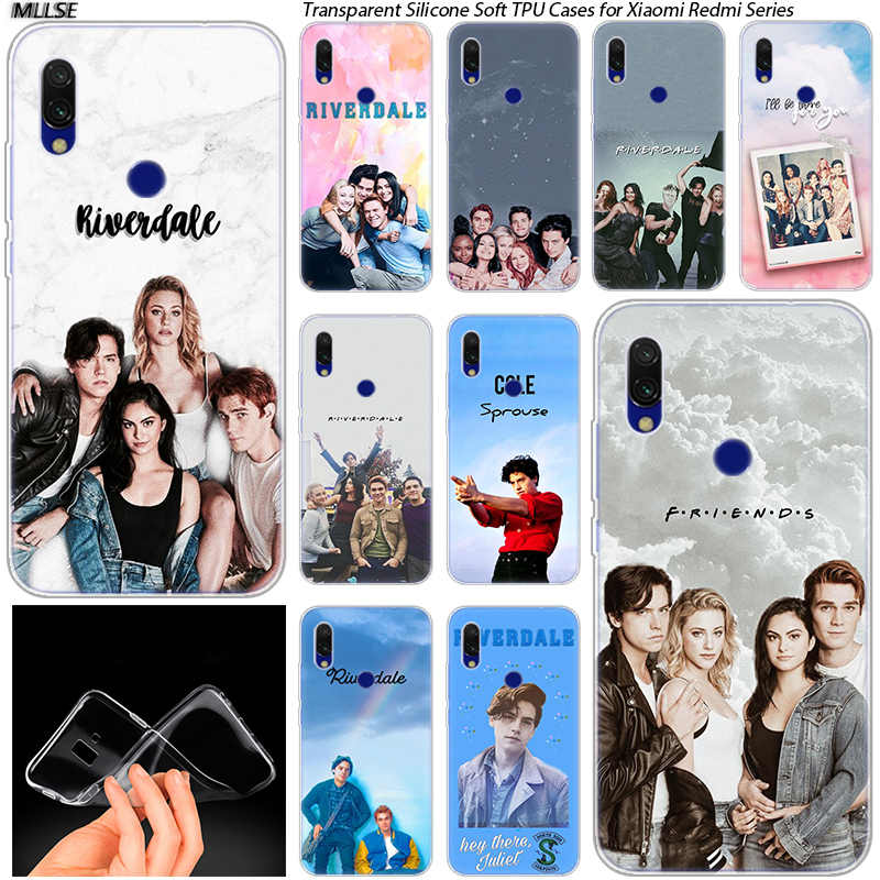 Riverdale South Side Serpents Soft Silicone Case for Xiaomi Redmi 7 GO S2  5 7A 5Plus 6 6A K20 Note 4 4X 5 6 7 Pro Cover