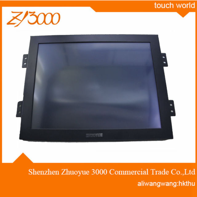 warranty 1 year great price 10.4 inch HDMI VGA dc12v input  5 wire usb Resistive  industrial touch screen monitor for machine