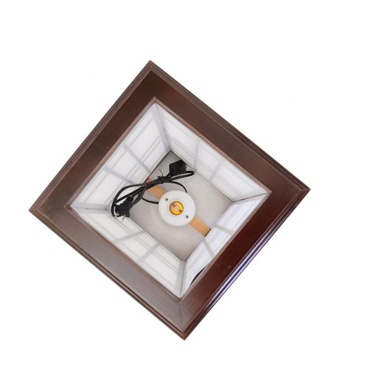 Styleապոնական ոճով հատակի լամպ Փայտի - Ներքին լուսավորություն - Լուսանկար 3