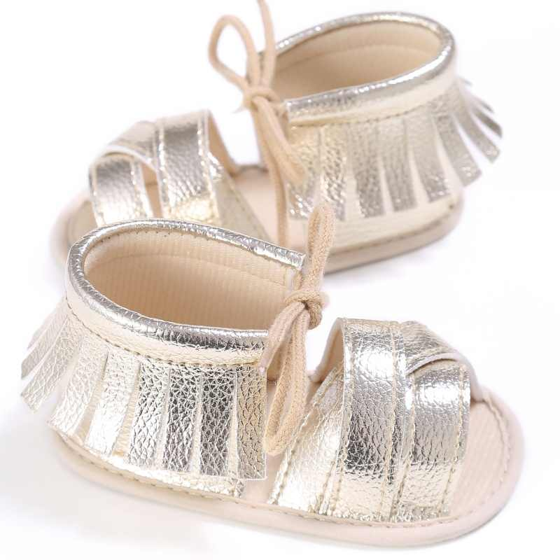 0-18M Summer Baby Girls First Walkers PU Fashion Breathable Hollow Out Anti- slip 8bed59b35a23