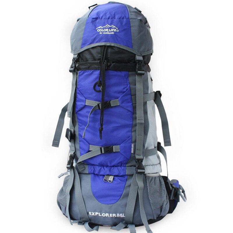 70L grande capacité voyage randonnée sac à dos en plein air sport sac usine directe en gros production personnalisée
