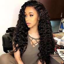 Prom Queen Hair 3 Pcs Loose Wave Virgin hair Bundles Brazilian Human Hair Weave Can Be Dyed Salon Hair