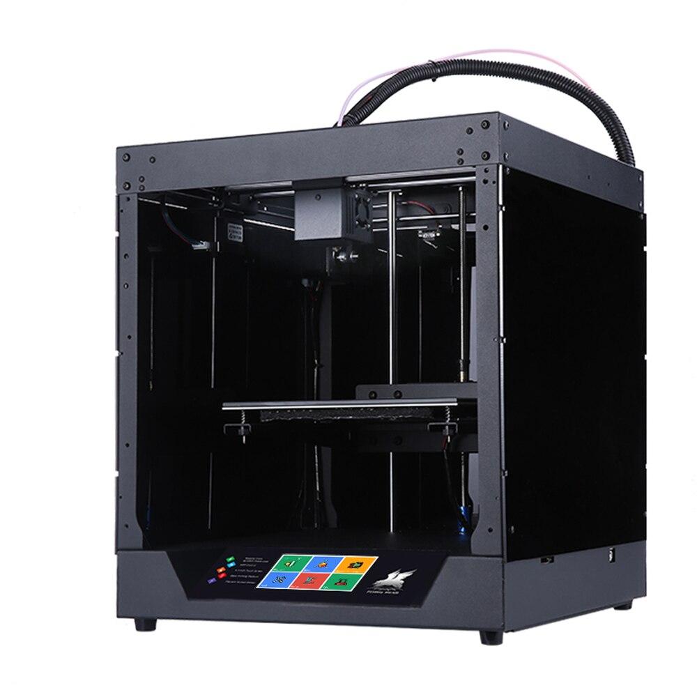 все цены на Hot Sale Flyingbear-Ghost full metal frame 3d printer kit онлайн