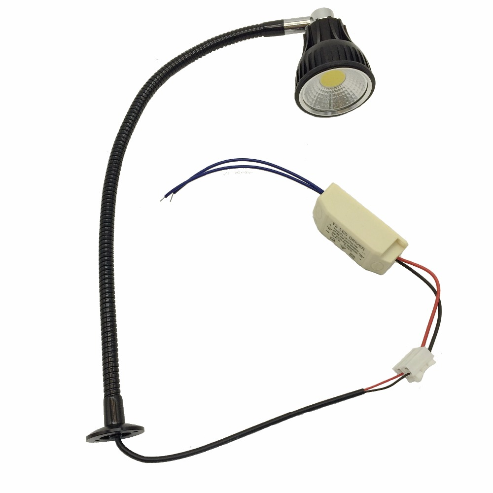 Super Bright 10W 12V 24V Flexible Pipe Led CNC Machine Lamp in Industrial Lighting from Lights Lighting