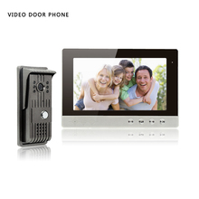 YobangSecurity Video Intercom Monitor 10″Inch Video Door Phone Home Security Color TFT Wired for House/Office/apartment/Hotel