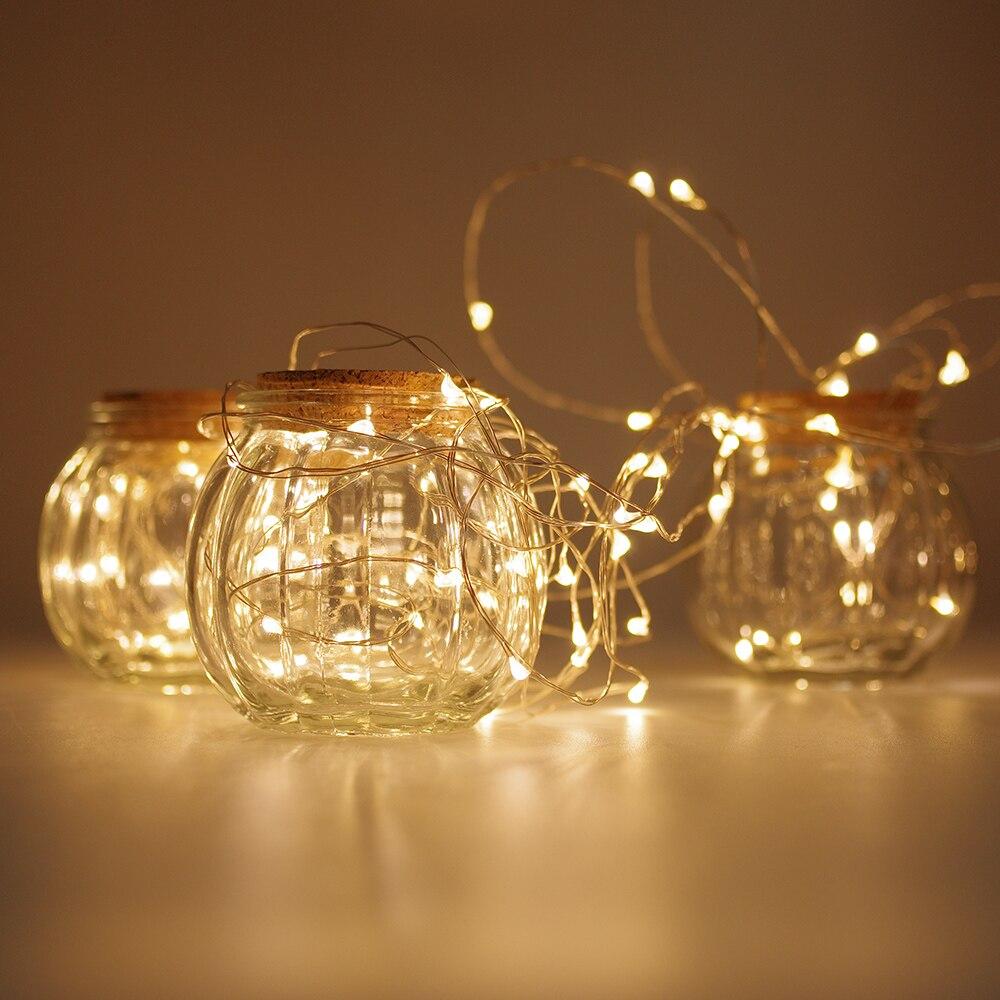 remote 3m 30 led copper wire light string garland lights. Black Bedroom Furniture Sets. Home Design Ideas