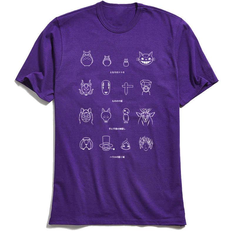 精神アイコンtシャツトトロメンズ顔のないトップスtシャツ 2018 o-ネックコットン生地メンズtシャツ誕生日のけtシャツ卸売