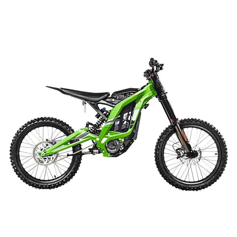 Sur-ron Luce ape X Elettrica mountain motocross 60V32AH 5400w mountain Elettrico della bici X versione e-motore mid-motore super-E-bike