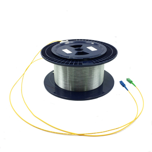 Image 2 - SC 1 キロメートル 9/125 シングル単一の裸ディスク OTDR 測定光ファイバ Otdr テスト光繊維リール