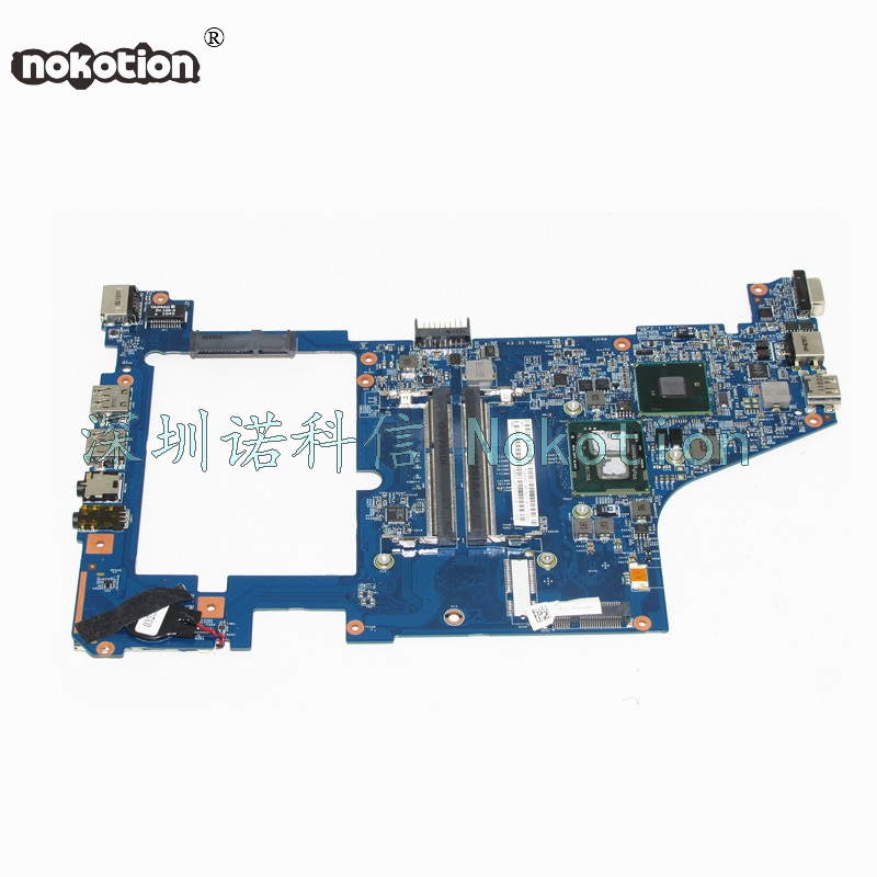 NOKOTION 48.4GS01.02N MBWL201012 MB.WL201.012 For acer aspire 1830T for Gateway EC19C laptop motherboard HM55 DDR3 U5600 CPU nokotion mbsc102001 mb sc102 001 for gateway lt23 for acer aspire one ao260 laptop motherboard n455 cpu ddr3 nav80 la 6222p