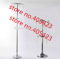 2 Tiers H 150cm Crystal Wedding Decoration Ferris Wheel Centerpiece Road Lead No Include Flower And