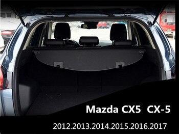 Rear Trunk Security Shield Cargo Cover For Mazda CX5 CX-5 2012 2013 2014 2015 2016 High Qualit Auto Accessories