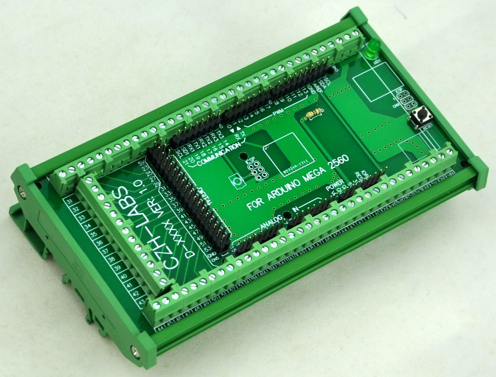 Image 2 - DIN Rail Mount Screw Terminal Block Adapter Module, For MEGA 2560 R3.-in Terminal Blocks from Home Improvement