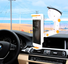 Dashboard Suction Tablet GPS Mobile Phone Car Holders Adjustable Foldable Mounts Stands For Huawei P10 G7